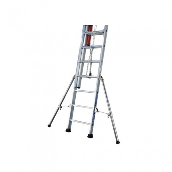 Extendable Triple Ladder With Rope ISOLEX