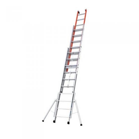 Escada Tripla Extensível ISOLEX Com Corda
