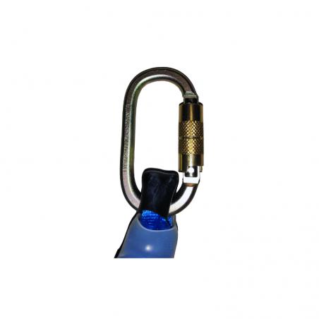 Pack Anti-Drop Y Damper 2Mt + Az 011T Carabiner + 2 X Az 022 Carabiners
