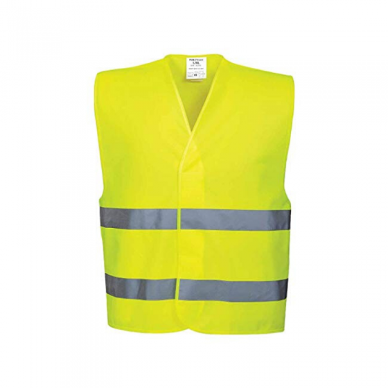 Reflective Vest with 2 Horizontal Strips