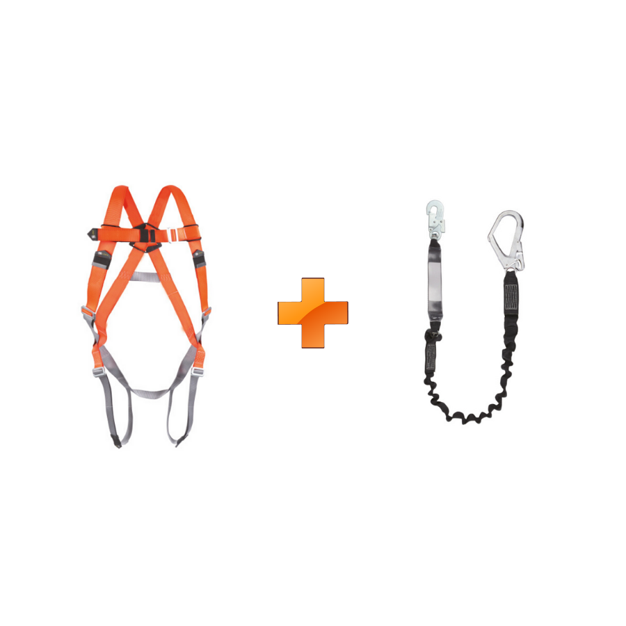 Economy Pack - 1-point harness + dampers