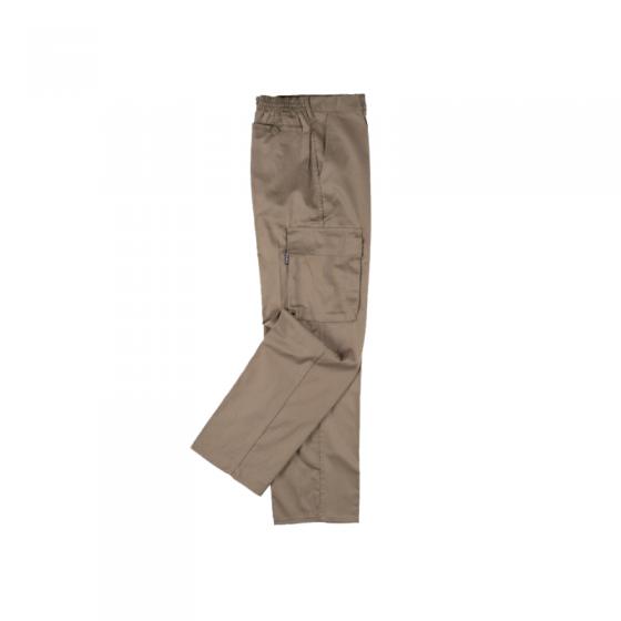 Calça Fibra e Algodão com 2 Bolsos Laterais