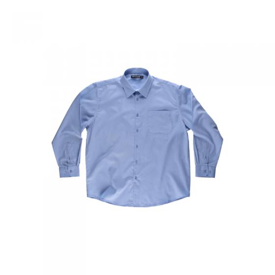 Camisa Manga Comprida com Bolso no Peito