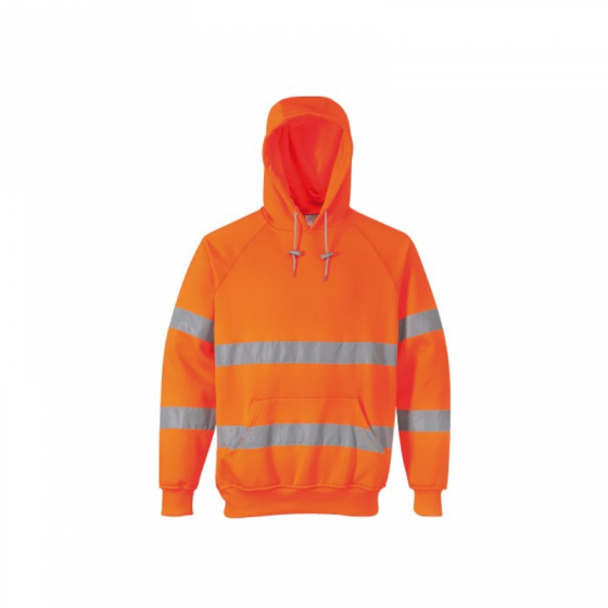 High Visibility Hooded Sweatshirt