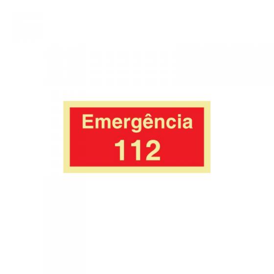 Emergency Sign 112