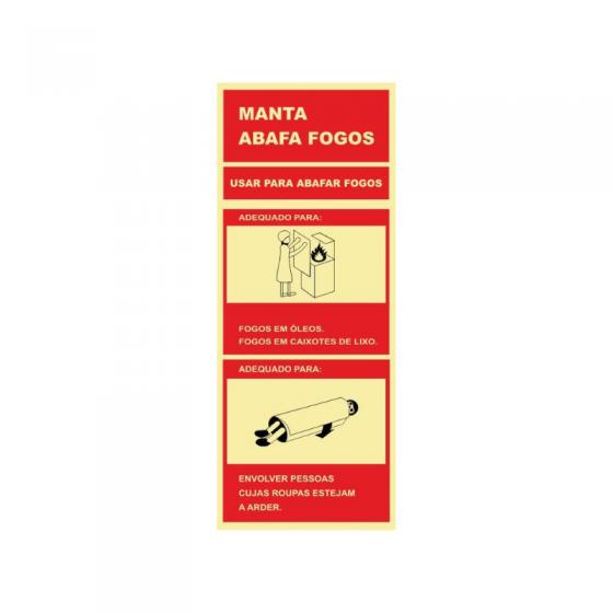 Manta Sign Extinguishes Firess