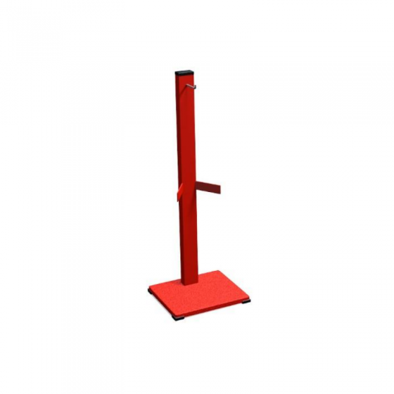 Pyramid Fire Extinguisher Stand with Base