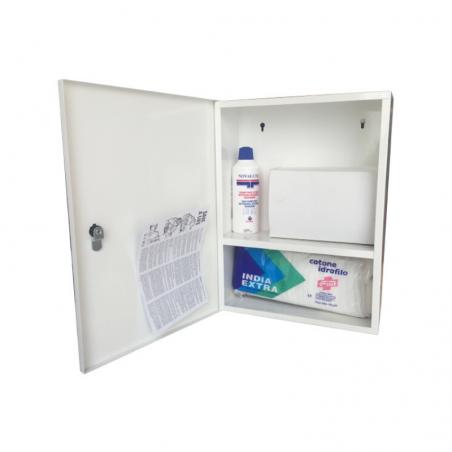 Metallic Pharmacy Cabinet Emergency Room