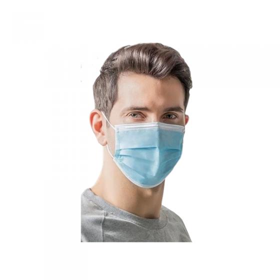 """Máscara Cirúrgica Tipo IIr """"Tuoren"""" Com 3 Dobras"""