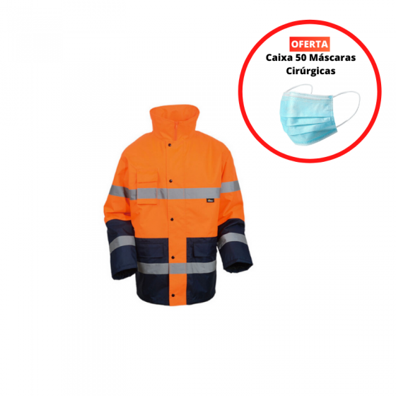 High Visibility Two Color Parka