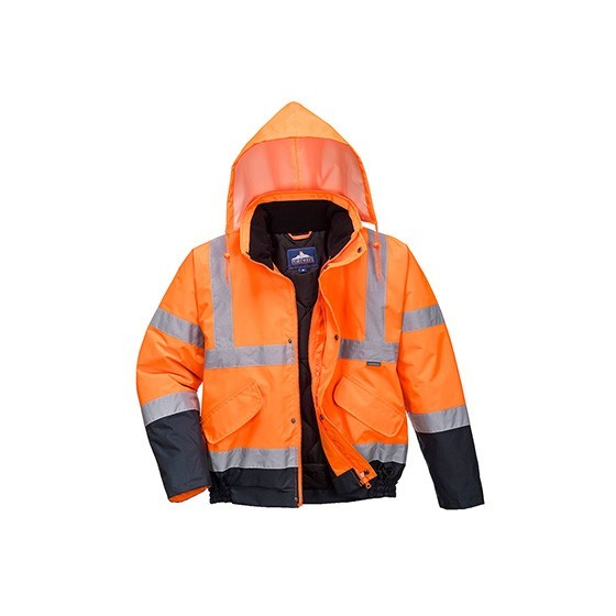 Bicolor High Visibility Jacket