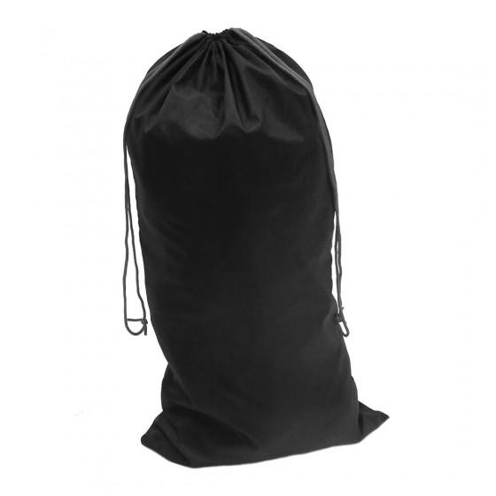 Nylon Drawstring Bag Black FP99