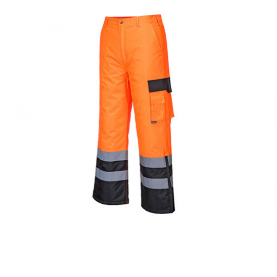 High Visibility Contrast Patch Trousers S686