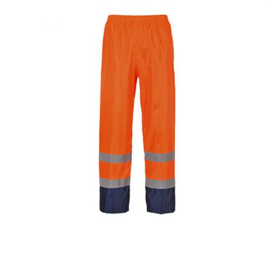 Contrast H444 Two Colour High Visibility Rain Pants