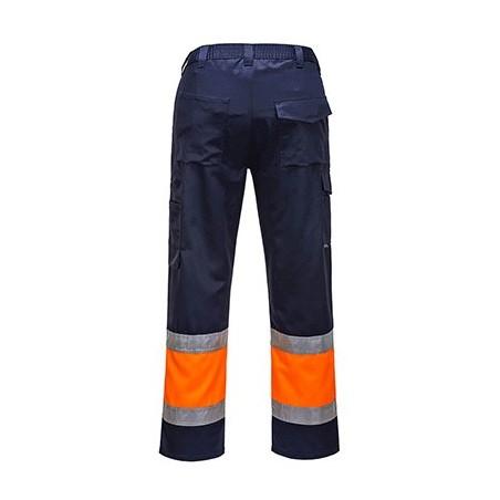 High Visibility Bicolour Combat Pants E049