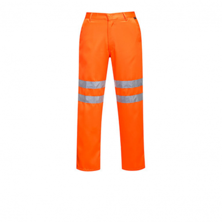 RIS RT45 High Visibility Polycotton Trousers