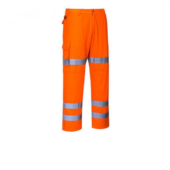 Combat High Visibility Trousers 3 Strips RT49
