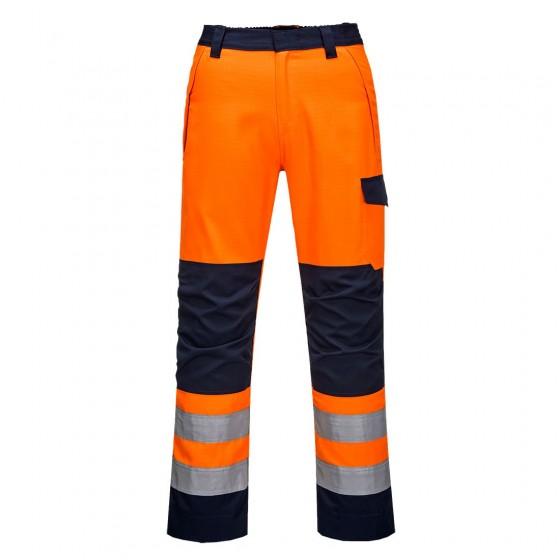 Modaflame RIS Orange/Navy Trouser MV36