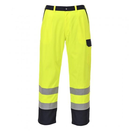 Hi-Vis Bizflame Pro Trousers FR92 Yellow