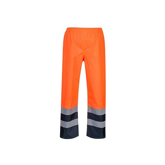 Two tone High Visibility Traffic Trousers S486