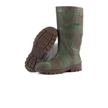 Alpha Camouflage Safety Boot