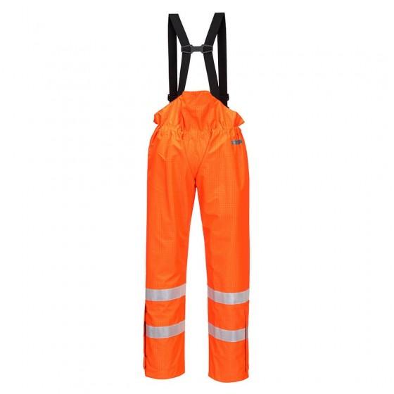 Bizflame Rain Unlined - Hi-Vis Antistatic FR Trouser S780