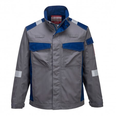 Bizflame Ultra Two Tone Jacket FR08 Grey