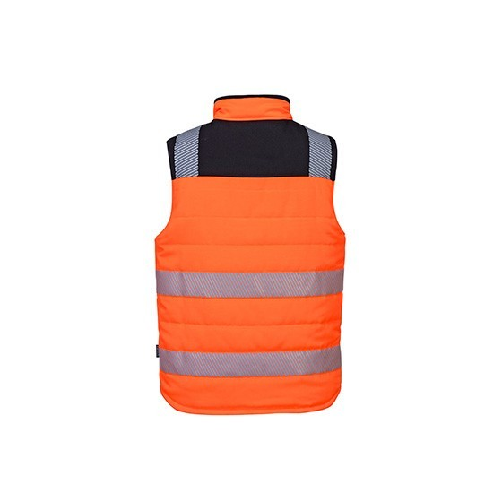 PW374 High Visibility Reversible Padded Vest