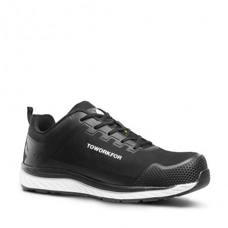 Black Workout Safety Shoe