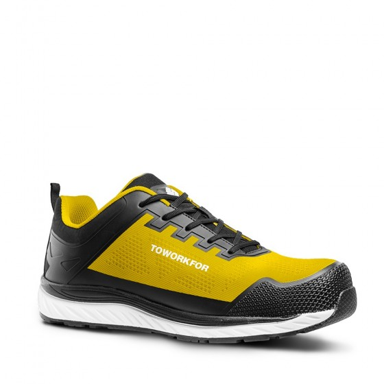Yellow Workout Safety Shoe