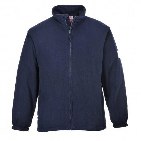 Flame Resistant Anti Static Fleece FR30 Navy
