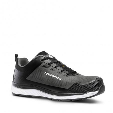 Grey Safety Shoe ToWorkFor