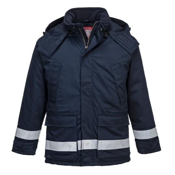 Anti-Static Winter Jacket FR59 Navy