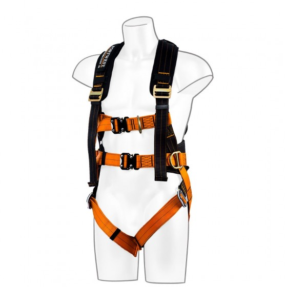 Portwest 3-Point Ultra harness FP73 Black/Orange