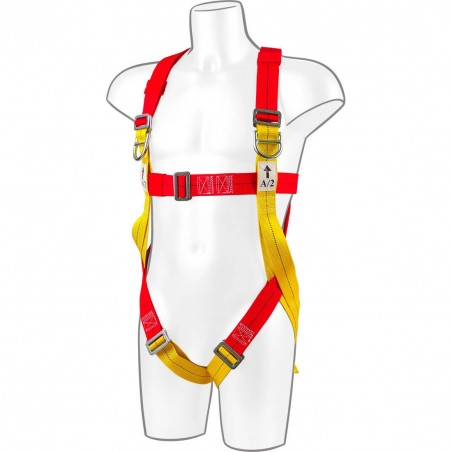Harness Plus 2 Points Portwest FP10 Red