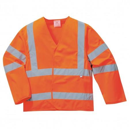 Hi-Vis Jacket Flame Resistant FR73 Orange