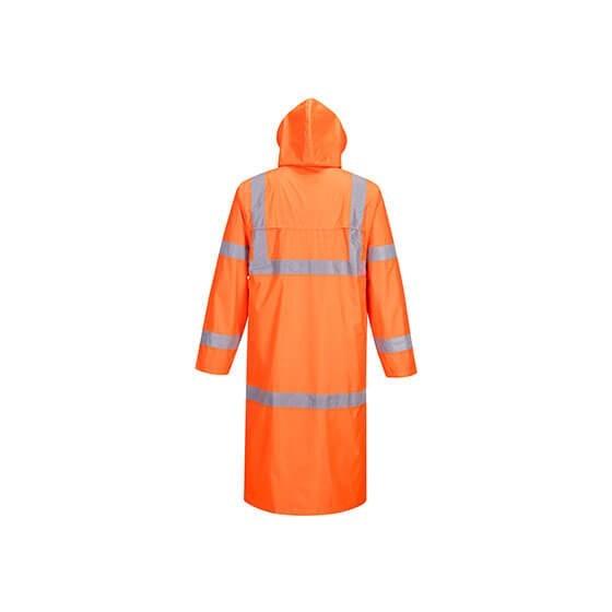 High Visibility Raincoat 122cm H445