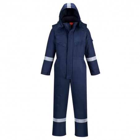 Araflame Insulated Winter Coverall AF84 Navy