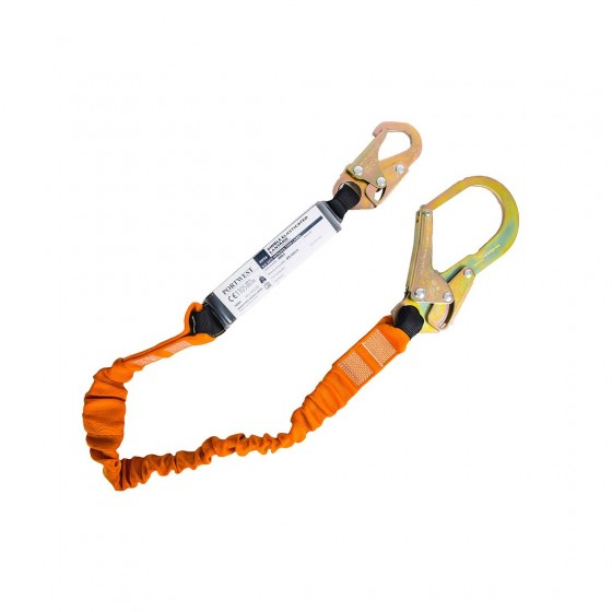 Lanyard with shock absorber 140 kg FP74