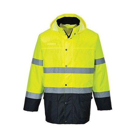 Lightweight Two Colour High Visibility Traffic Jacket S166