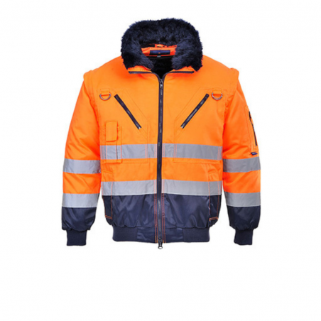 Pilot 3-in-1 High Visibility Jacket PJ50