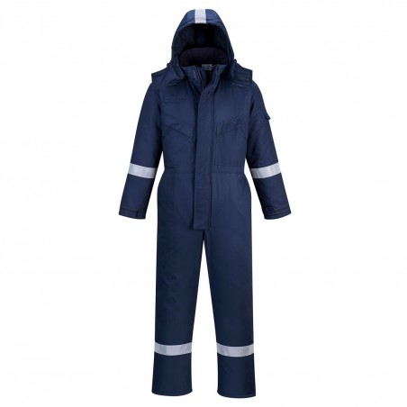 Anti-Static Winter Coverall FR53 Navy