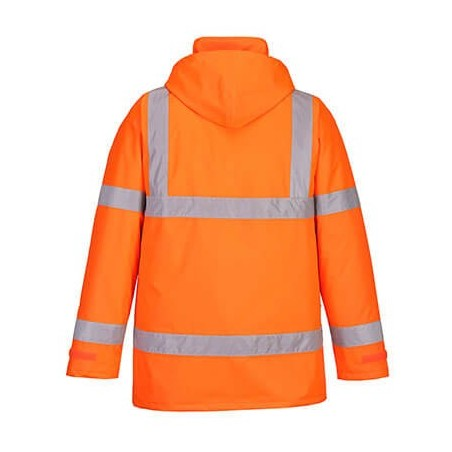 High Visibility Traffic Parka S460