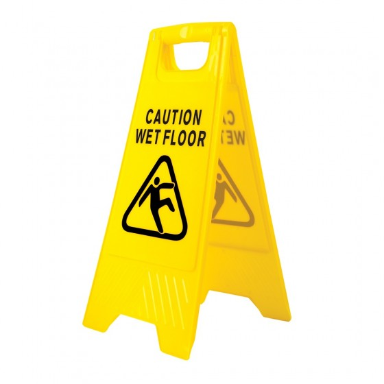 Warning sign for wet floor HV20
