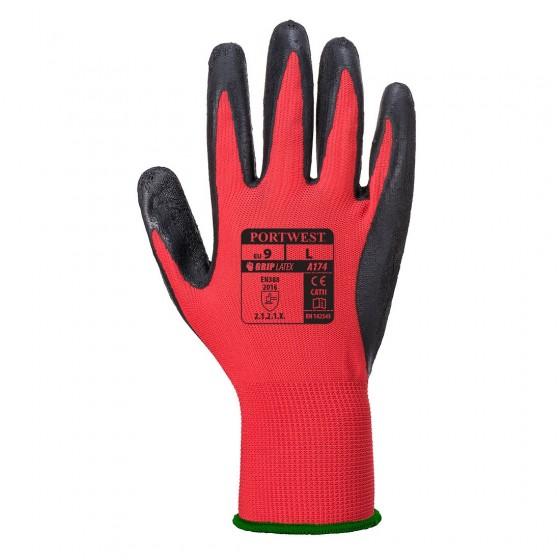Latex Glove Flex GRIP A174
