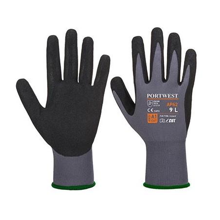 Dermiflex Aqua Glove AP62 Grey/Black