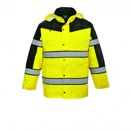 Classic high visibility two-colour jacket S462