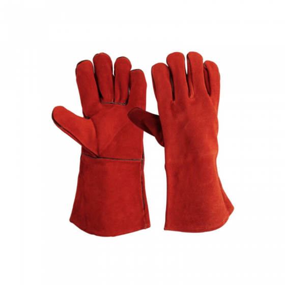 Welder Glove Croute Red Lined
