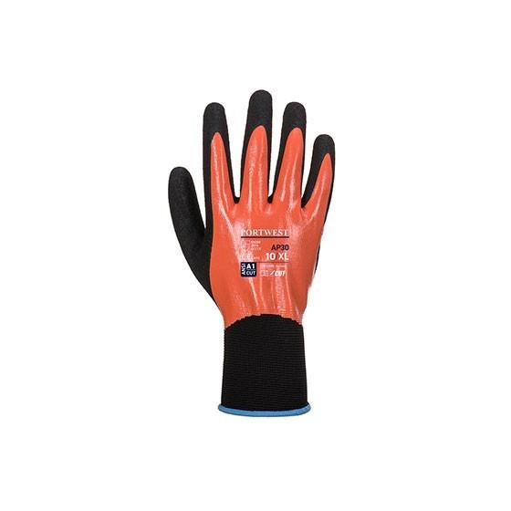 Dermi Pro Protective Glove - AP30 - Orange/Black