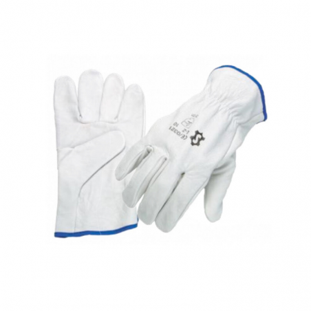 White Leather Chef Glove (Pack Of 12)